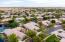 Aerial view of the neighborhood.