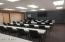 Use of the conference room can be scheduled. Holds 36 in classroom seating, up to 60 in presentation seating.
