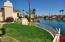 SO MUCH YARD for a Scottsdale waterfront! Double the lot = double the yard!
