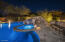 One Of A Kind Pool, Spa, Grotto, Slide, All With LED Lighting