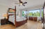 Upstairs Masterbedroom with views of golf course