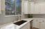 Features granite composite single basin sink.