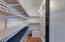 Super spacious pantry!