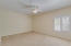 Extremely large fourth bedroom! Give your guests all the room they need!