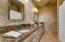 Secondary bathroom with granite!