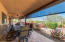 Covered patio extends the length of the home! The views and the sunsets are magnificent!
