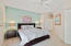 KING SIZE BED*CEILING FAN*LARGE WALL CLOSET & LINEN CLOSET IN HALL TO BATHROOM*