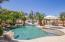 Pool with progressive depths for play time