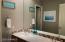 Dual vanity in bathroom 3