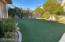 Large grass area for kids to play