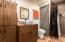 Barn guest quarters bathroom