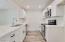 Raised kitchen ceiling