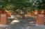 Full grown landscaping makes for serene environment