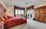 Master Bedroom with Views, Sitting Area and Private Patio Access