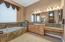 Master Bath with Large Soaking Tub and Dual Vanities