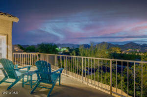 YESS! this can be YOUR daily experience! Private balcony with McDowell Mountain Views and Majestic Sunsets