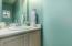 Downstairs powder bath