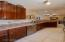 Spacious kitchen and plenty of cabinet space