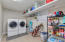 Large indoor laundry room.