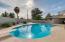 Sparkling diving pool.