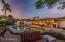 Back Patio, Fireplace entertaining area, pool