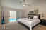 Spacious Master with Separate Exit to Pool.