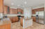 Gorgeous cabinets, pantry, stainless appliances, RO system at kitchen sink