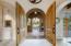 8' Arch Solid Cherrywood Doors