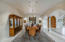 Barrel, Scalloped and Compound Vaulted Ceilings Throughout