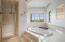 Soaking Garden Tub Spa and Steam Shower