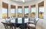 Kitchen Eat Area---Rotunda View of Red Mountain