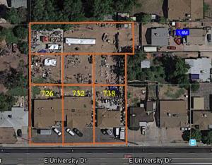 726-738 E UNIVERSITY Drive, Mesa, AZ 85203