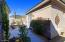 French doors lead to this private patio and Casita