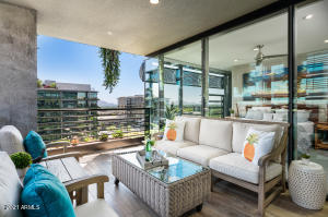 Relax and enjoy the views out on your patio