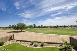 Desirable 4BR Gilbert home backing to the Western Skies Golf Course--enjoy beautiful Superstition Mountains and golf course views from this well maintained property.  Light and bright kitchen boasts a large walk-in pantry, island, breakfast bar and stainless steel cook-top.  Great room features a gas fireplace. Upstairs you'll find a expansive loft with access to a tree-shaded balcony. Convenient upstairs laundry. Spacious master suite with dual closets. Ceiling fans throughout for energy efficiency. The backyard features a covered patio, view fencing, large grass area and generous side yard. The three car garage has a newer gas water heater and room to add built-in storage.  Don't miss this home! Some recent improvements include:  --water heater 2020 --garage door 2019 --garage door opener 2016 --front yard gate 2019 --new sod at back yard 2019 --new stairwell railings 2016 --new carpet bedroom #2 2019 --some bath updates 2015-2019 --new cooktop 2016 --new disposal 2019 --new dishwasher 2020  Nice community with sidewalks and mature landscaping. Close to newer Gilbert amenities.