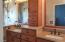 Separate Sinks. Extra Cabinets,