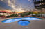 Propane Heated Pool Spa