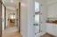 Convenient linen storage and abundant natural light