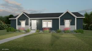 Color is Charcoal, not as shown with white trim, and it is the style and look. FAWN model clayton home.