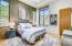 Spacious guest bedroom en-suite with walk in closet