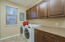 Cabinets and countertops ~ plus washer and dryer may convey with sale