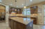 Large kitchen island ~ perfect for parties or prepping