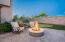 Gas fire pit ~ perfect for watching sunsets
