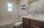 2nd bathroom, accent tile