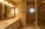Here's the bathroom in the main bedroom hallway.