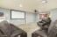 Downstairs Bedroom/Media Room