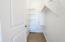 Bedroom walkin closet