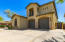 3 car garage, extended driveway and side gate at each side of house.