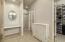 Vanity at Main bath. TWO walk in closets.