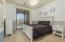 Third bedroom with balcony to Jack & Jill Bath